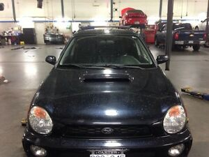 NEW PRICE 2002 Impreza WRX hatchback North Shore Greater Vancouver Area image 2