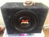 12inch Rockford punch sub