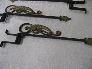 Art Deco Curtain Rods -- FROM PAST TIMES Antiques - 1178 Albert Regina Regina Area image 3