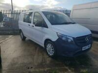 Mercedes-Benz Vito 2.1CDI - Compact 2015MY 114 BlueTECcrew van alloys fitted