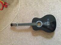 Un-Branded Spanish nylon string guitar