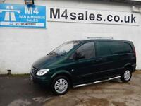 Mercedes Vito 111 CDI COMPACT SWB, A/C, ALLOYS, SIDE BARS.