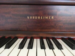 Fully Restored: Nordheimer Upright Grand Piano, 1922.