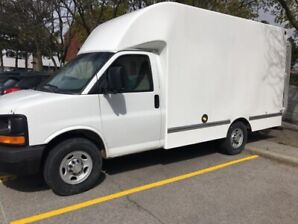 2010 Chevrolet Express Cutaway with 12foot Unicell Box