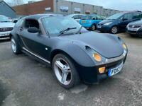 Smart Roadster Coupe 80 Auto with Targa Roof, Rare, Summer Car, Convertible