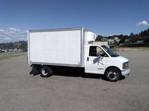 GMC 3500 Turbo Diesel Thermo King Insulated 250k Inspected