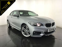 2014 BMW 220D M SPORT AUTO COUPE DIESEL 1 OWNER SERVICE HISTORY FINANCE PX