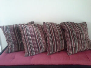 Accent Pillows (various types/colors)