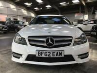 Mercedes C Class C220 Cdi Blueefficiency Amg Sport Plus Coupe 2.1 Automatic Dies