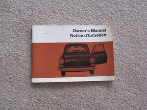 Original - Volkswagen Owner's Manual - 1970 Models