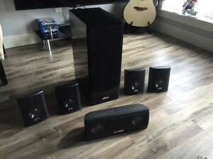 1000 watts home theatre sounds system