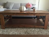 Hand Crafted Wood Coffee Table