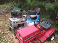 250$ FOR ALL 6 PARTS LAWN TRACTOR
