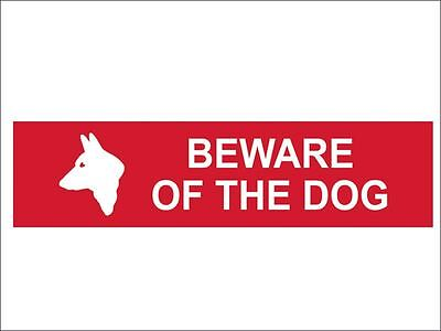 Scan - Beware Of The Dog - PVC 200 x 50mm