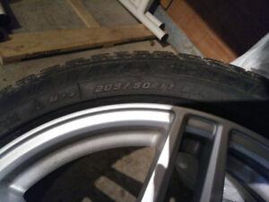 pneus et mags Mercedes