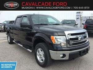 2014 Ford F150 4x4 Supercrew XLT with power equipment group!!