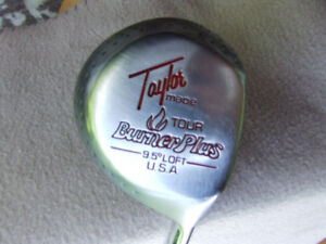 Taylor Made Tour Burner Plus Driver (RH) + Head Cover - $10.00
