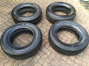 BRAND NEW SET 4 DUNLOP ALL TERRAIN 4WD/SUV TYRES 265/65/17 INCH Rowville Knox Area Preview