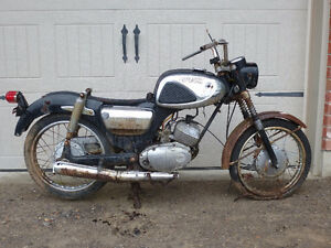 1966 Suzuki Olympian S32-2 Parts - Project Bike - price reduced