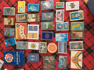 Collection de jeux de cartes