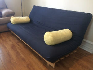 Super comfy futon for sale - pick up only