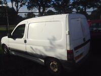 06 plate Citroen berlingo van mot about to run out at end of month