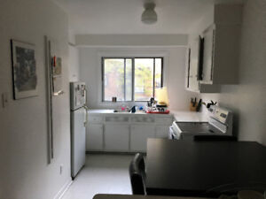 3 and a half, spacious apartment and quiet neighbourhood