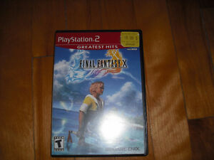 Final Fantasy X 10 Playstation 2 Complet