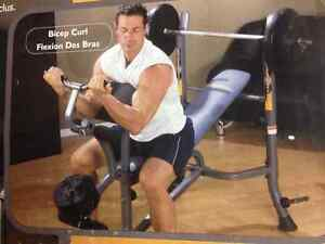NEW IN BOX - WEIGHT BENCH WITH ARM/LEG CURL Kitchener / Waterloo Kitchener Area image 2