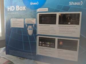 Shaw cable hd box(pvr) and landline phones