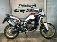 17 HONDA CRF1000L D-H AFRICA TWIN DCT SWITCHABLE AUTO/MANUAL VERY CLEAN