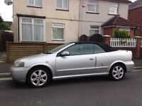 Y reg Astra convertible the Belmont