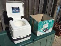 Porta Potti - portable toilet perfect for camping