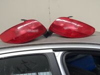 peugeout 206 1998 to 2007 back lights x2