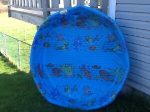 5' diameter kids pool