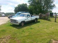 87 3/4 tone Dodge Ram