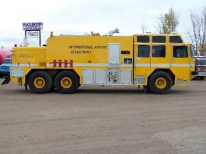 1982/1994 OSHKOSK 6X6 ARFF, CRASH FIRE