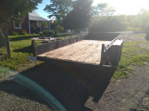 16 ft Landscaping Trailer