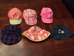 Variety of Girl's Hats