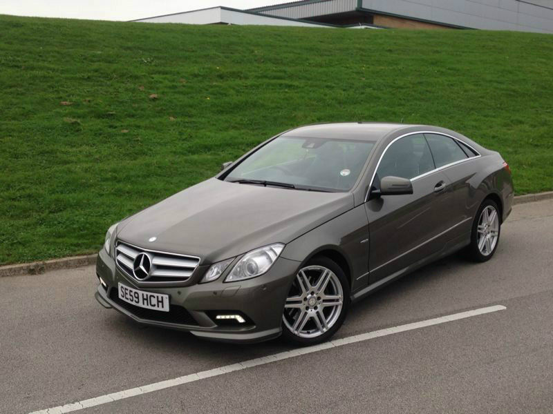 Mercedes Benz E350 History >> Mercedes Benz E350 Coupe Bluef Cy Sport Cdi A Grey 2009 One Owner