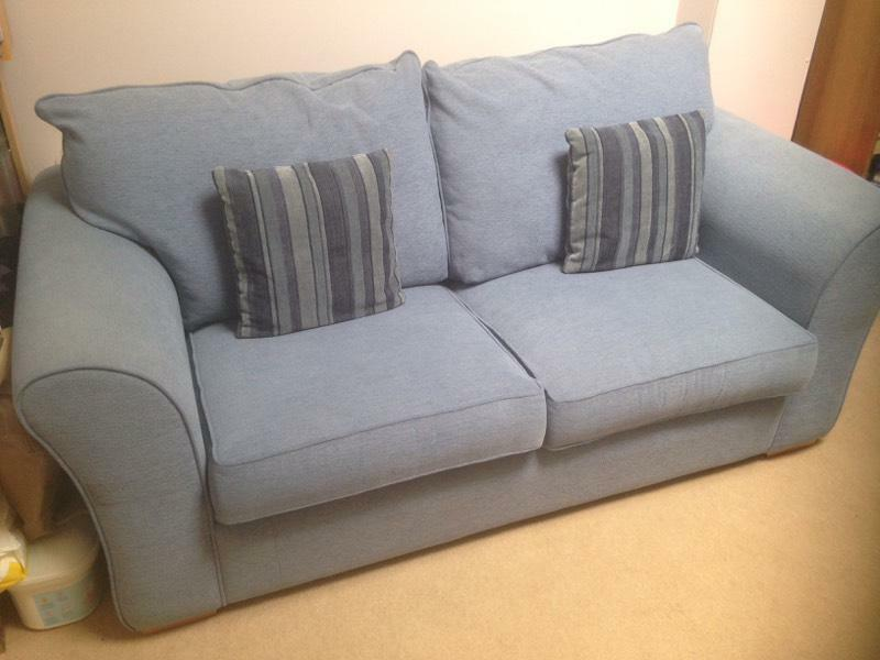 Blue sofa bed double in ibrox glasgow gumtree for Sofa bed glasgow