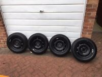 Mini one F56 Brand new genuine wheels Michelin tyres TPMS