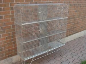 Bird Cage Large Size / Multiple Compartments