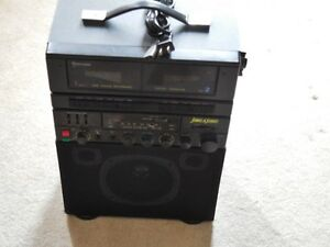 Karaoke dual Cassette player with pitch control Kitchener / Waterloo Kitchener Area image 2