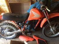 Honda XR 100 for parts
