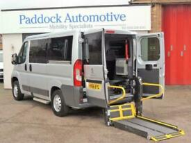 Peugeot Boxer 2.2 HDi 333 L1 H1 Disabled Wheelchair Adapted Vehicle WAV