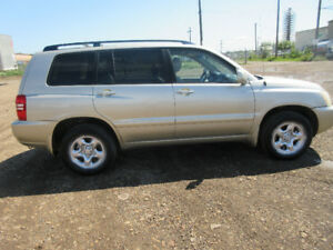 2003 TOYOTA HIGHLANDER DVD PLAYER DRIVE EXCELLENT