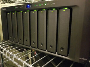 Synology 8 Bays NAS DS1813+