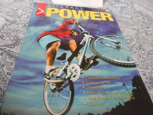 Literacy power brand new moving sale