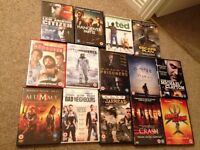14 DVDs assorted Titles
